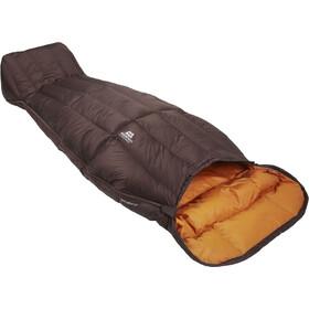 Mountain Equipment Spellbinder Sac de couchage Femme, dark chocolate/blaze